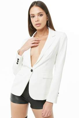 Forever 21 Notched Collar Blazer