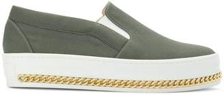 Mr & Mrs Italy slip-on curb chain sneakers