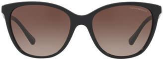 Emporio Armani Ea4110 55 Black Cat Sunglasses