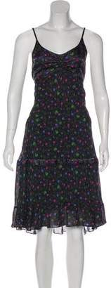 Chloé Floral Print Midi Dress w/ Tags