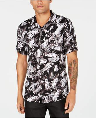 GUESS Mens Brushstroke Shirt