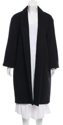 Calvin Klein Collection Wool Knee-Length Coat