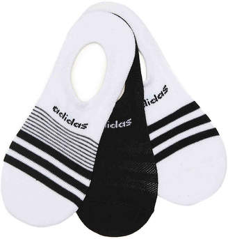 adidas Superlite No Show Socks - 3 Pack - Women's