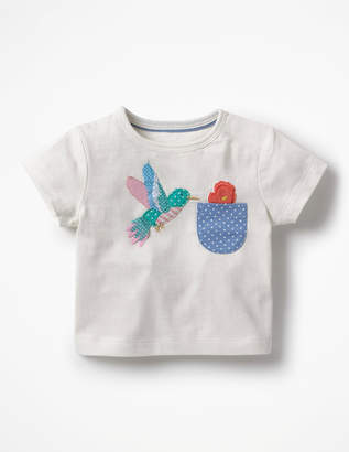 Boden Applique Pocket T-shirt