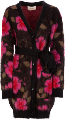 La DoubleJ Oversized Mohair-Blend Cardigan Coat Size: L
