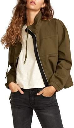 RVCA Skyway Cotton Crop Jacket