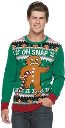 Men's Gingerbread Man Christmas Sweater