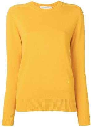 Victoria Beckham long-sleeve fitted sweater