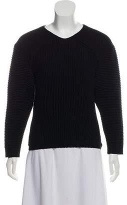 Leroy Veronique Merino Wool Heavy Knit Sweater