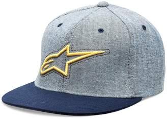 Alpinestars Mens Brisk Flat Bill Flex Fit Hat