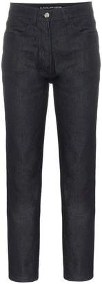 A_Plan_Application high-waisted straight leg jeans