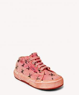 Sole Society 2754 Fantasy COTJ Dyed canvas printed sneaker