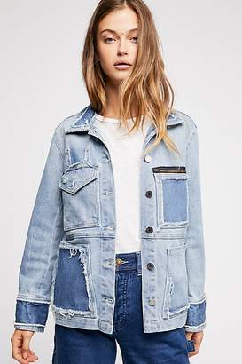 Zadig & Voltaire Kick Destroy Denim Jacket