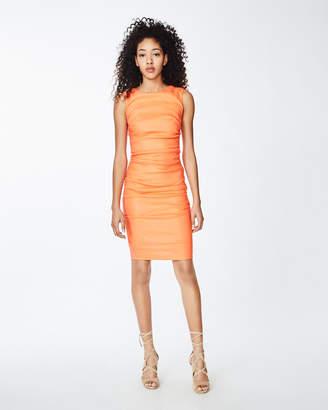 Nicole Miller Lauren Stretch Linen Dress