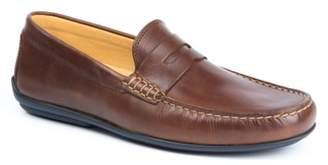 Heller Austen 'Clinton' Leather Penny Loafer
