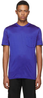 Lanvin Blue L Logo Pocket T-Shirt