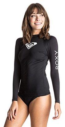 Roxy Women's Whole Hearted Long Sleeve Rashguard $17.24 thestylecure.com