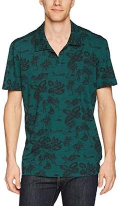 Agave Men's North Shore Short Sleeve Johnny Collar Polo