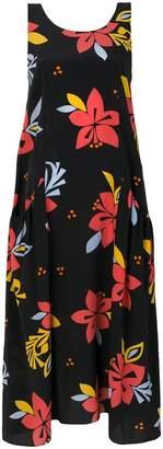 Parker Chinti & floral print dress