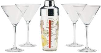 Equipment Luminarc Martini Glass Cocktail Making Set
