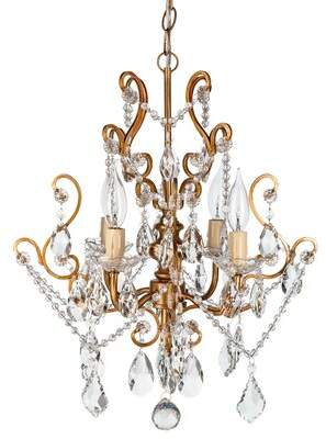 Three Posts Baby & Kids Flemington 4-Light Candle Style Chandelier Baby & Kids