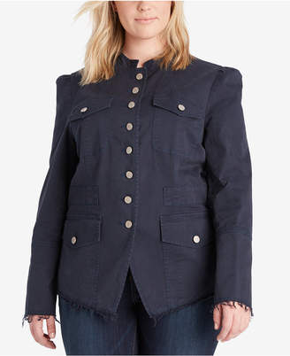 William Rast Plus Size Bragg Jacket