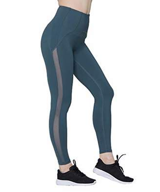 Couture MAVOUR Women's High Waist Yoga Sports Pants with Side Mesh Tummy Control Full Length Workout Tights