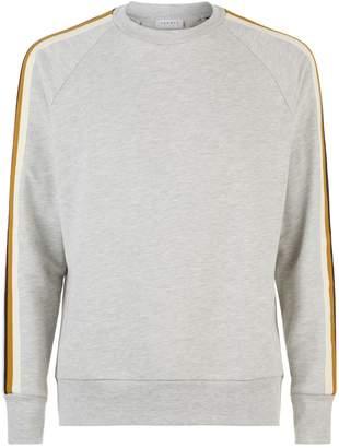 Sandro Contrast Stripe Sweater