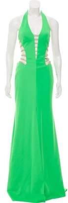 Terani Couture Rhinestone-Accented Dress
