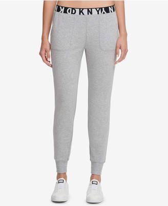 DKNY Sport Slim Logo Sweatpants, Created for Macy's