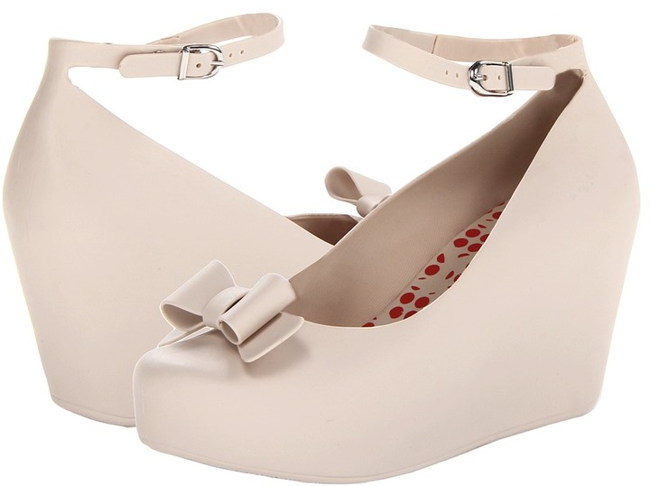 Mel by Melissa - Mel Toffee Apple II (Beige/Red) - Footwear