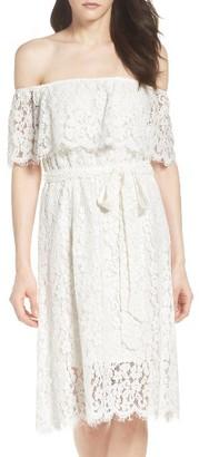 Women's Bardot Sienna Popover Dress $109.99 thestylecure.com