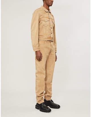 Helmut Lang Regular-fit denim trucker jacket