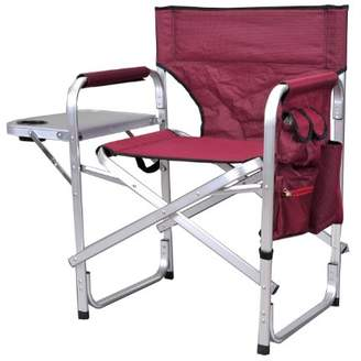 Stylish Camping SL1204BUR Full Back Folding Director's Chair