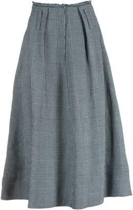 Golden Goose Striped Eclipse Skirt