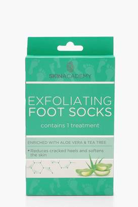 boohoo Exfoliating Aloe Vera & Tea Tree Foot Socks