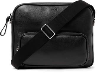 Tod's Leather Messenger Bag - Men - Black