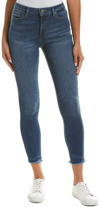 DL1961 Premium Denim Chrissy Bal Harbour Trimtone Skinny Leg