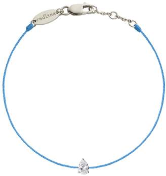 Redline Altesse Blue String Bracelet - Yellow Gold