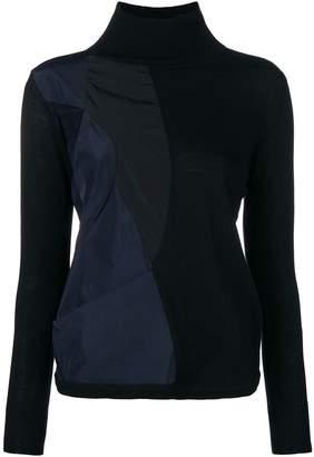 Stefano Mortari patchwork sweater
