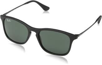 Ray-Ban Boy's Chris Junior Sunglass 0RJ9061S Rectangular Sunglasses