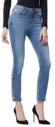 Ga Sale Good Legs Crop Snap Hem