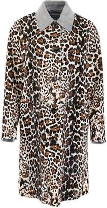 Bottega Veneta Leopard-printed Coat