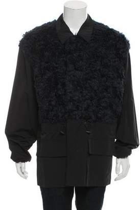 3.1 Phillip Lim Lightweight Faux Fur Jacket