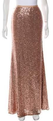 Fame & Partners Sequin Maxi Skirt Pink Sequin Maxi Skirt