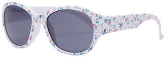 John Lewis & Partners Girls' Floral Bee Sunglasses, White