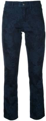 Marc Cain slim printed jeans