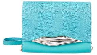 Diane von Furstenberg Leather Flirty Crossbody Bag