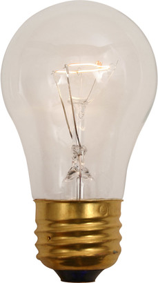 Rejuvenation 40W A15 Clear Bulb, 2pk.