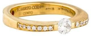 Roberto Coin Diamond Cento Engagement Ring